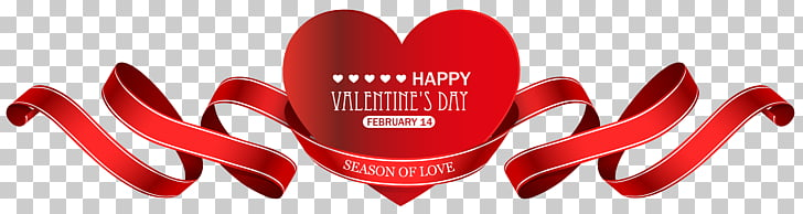 Valentine\'s Day Red Heart Decor Transparent , red background.