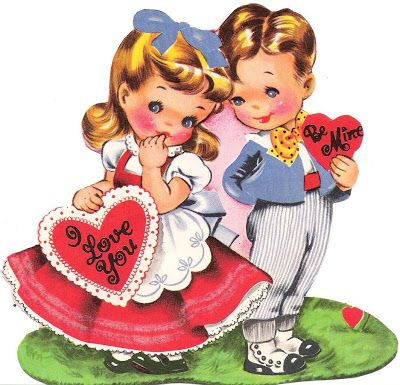 Free Vintage Valentines Day Printablesthese would make.