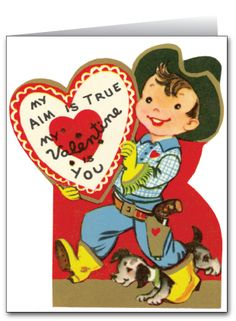 466 Best VALENTINES COWBOYS & INDIANS VINTAGE images.