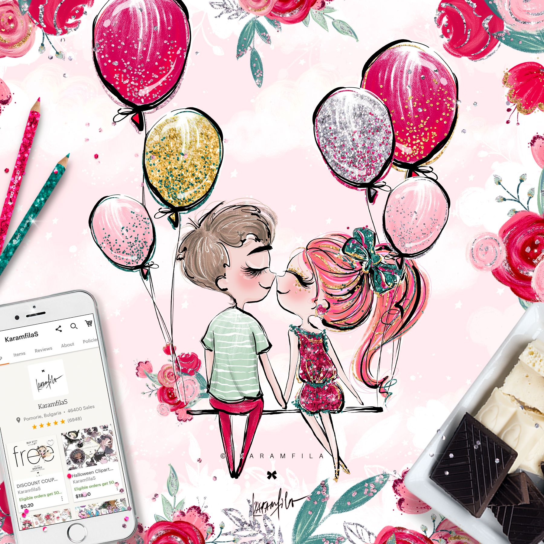 Valentine Clipart in 2019.