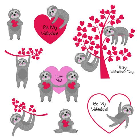 sloth valentines.