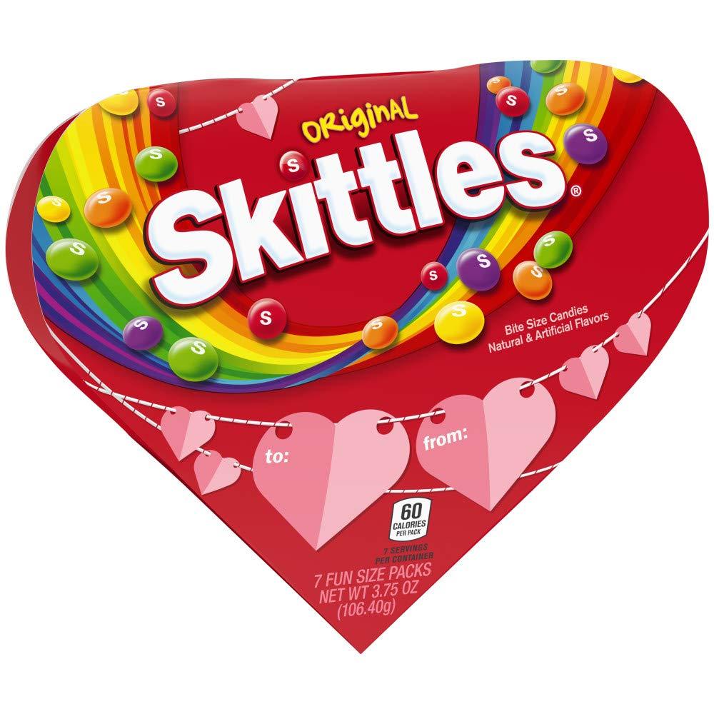 Amazon.com : SKITTLES Original Valentine\'s Candy 3.75.