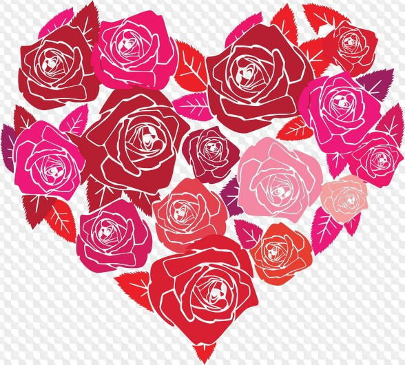 88 PNG, Love and Valentines Day clipart on transparent.