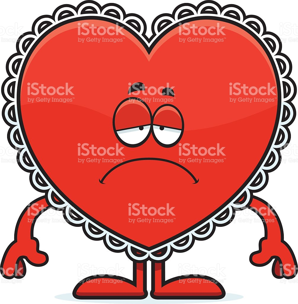 Sad Cartoon Valentine stock vector art 532594341.