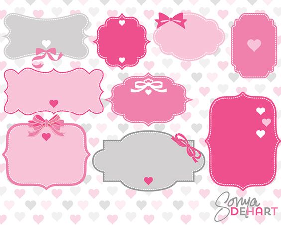 Free Valentine Label Cliparts, Download Free Clip Art, Free.