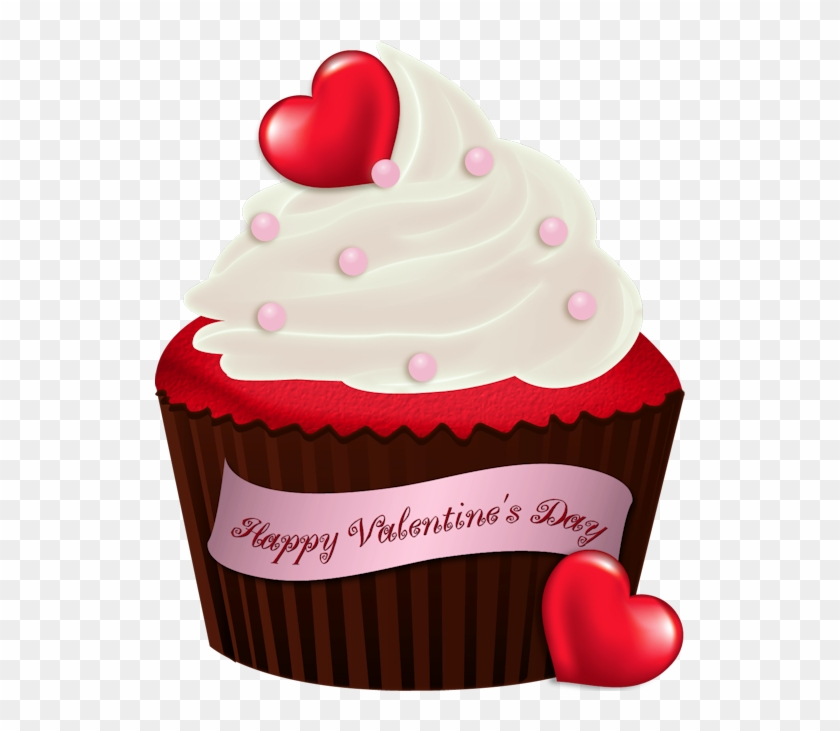 Cupcake Clipart Valentines Day.