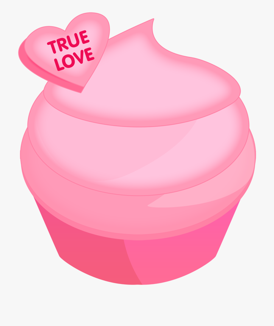 Cupcake Valentine Day Clip Art , Transparent Cartoon, Free.