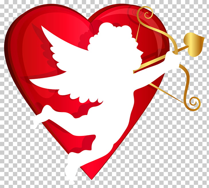 Valentine\'s Day Cupid Lupercalia Venus Heart, Cupid with Bow.