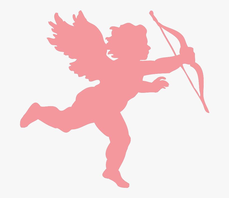 Pink Valentines Day Cupid.
