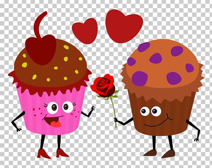 Cupcake Muffin Drawing Valentine\'s Day PNG, Clipart, Cake.
