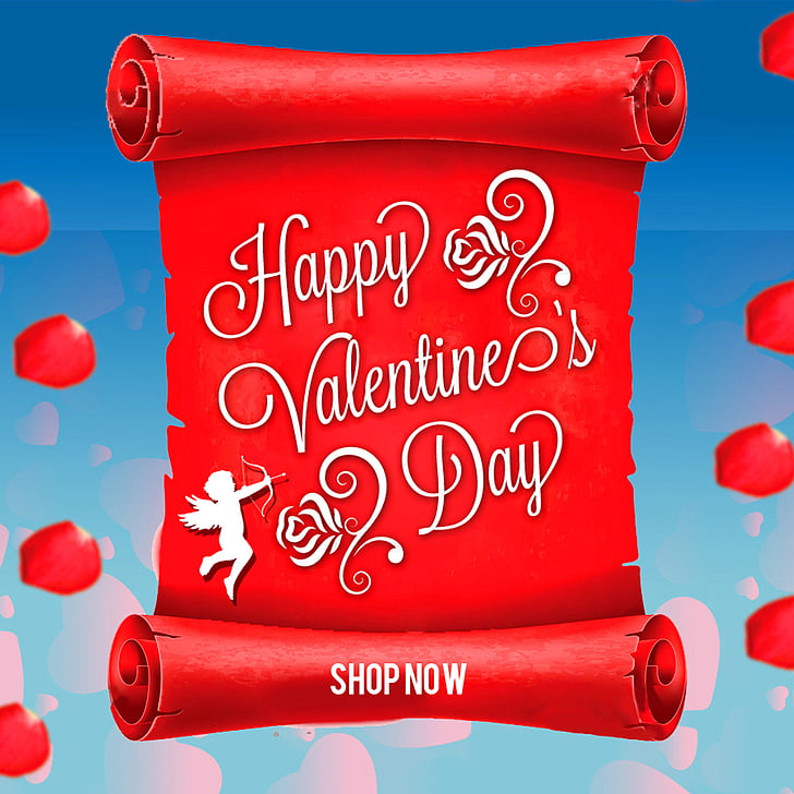 Web banner Computer file, Valentines Day Banners PNG clipart.