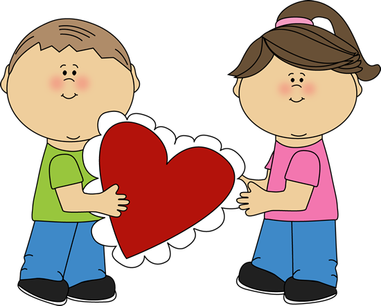 Valentine's Day Party Clipart.