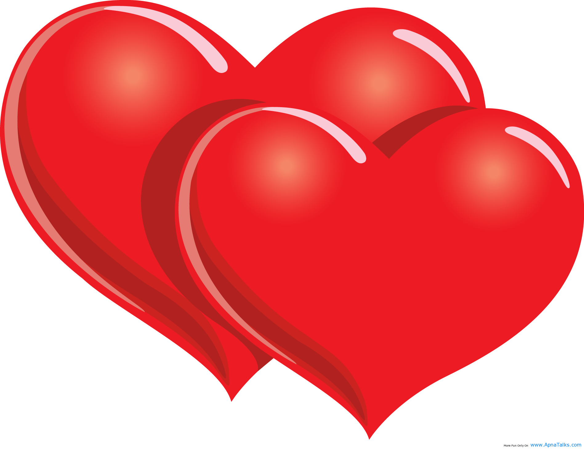 Happy valentines day son clipart.