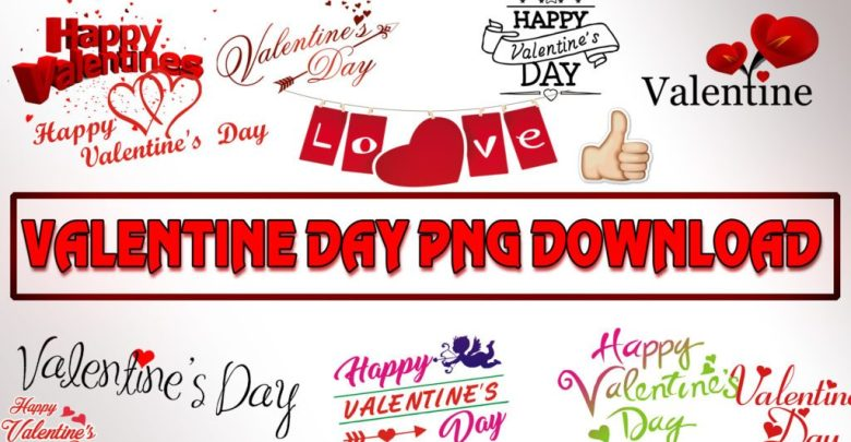 New ] Valentine Day Editing PNG Zip File Download.