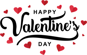 Valentine\'s day Logo Vector (.EPS) Free Download.