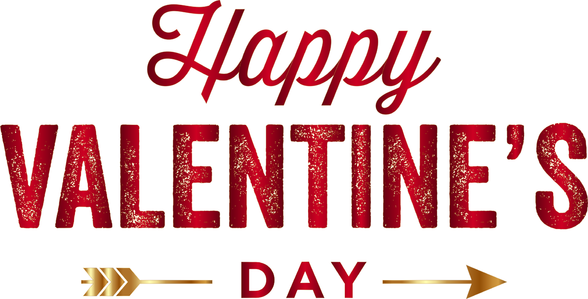 Happy valentines day text png images.
