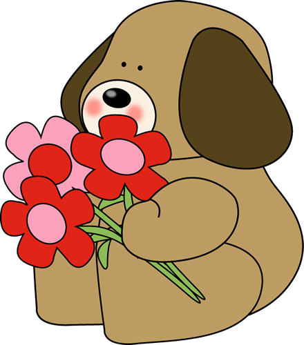 Graphic Valentine Clip Art.
