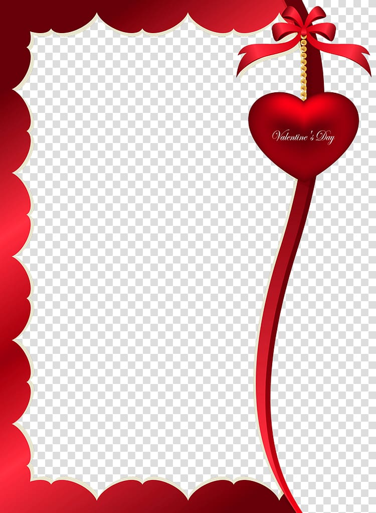 Valentine\'s Day frame , Valentines Day Decorative Ornament.