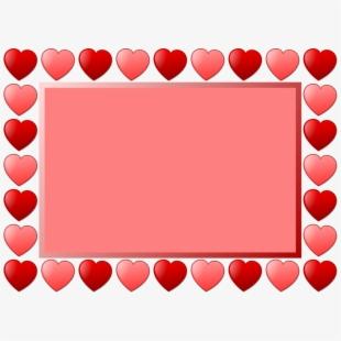 Love Frame Clipart Valentine.