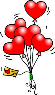 7087 Valentines Day free clipart.