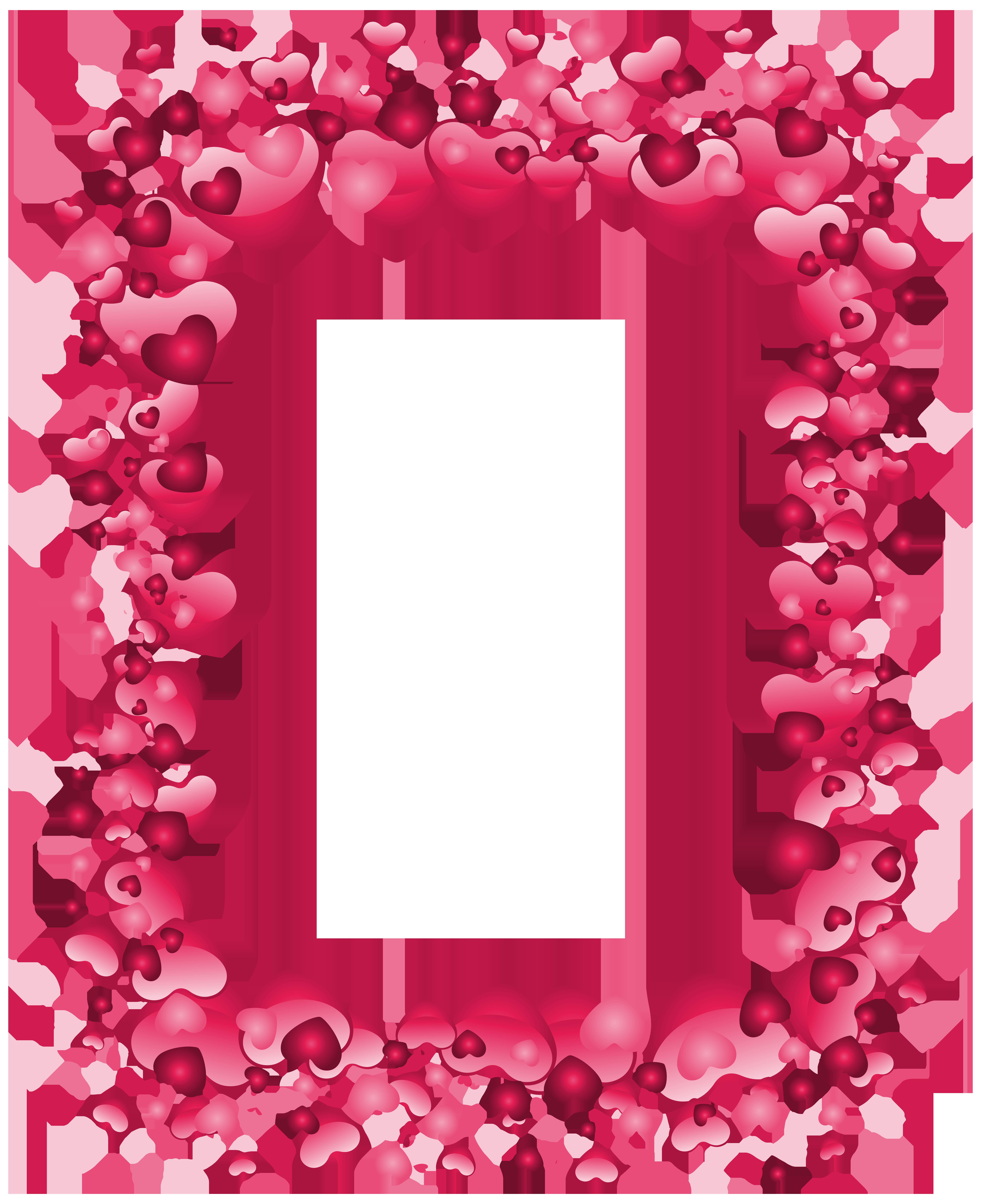 Heart Border Clipart Transparent.