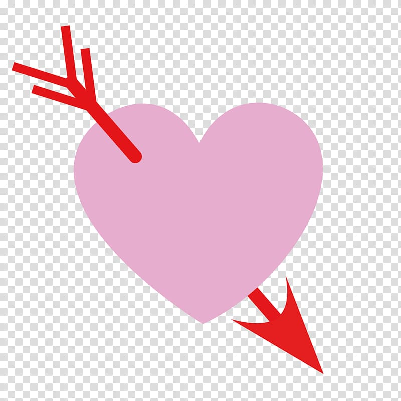 Valentine\\\'s Day Heart , Graphic design transparent.