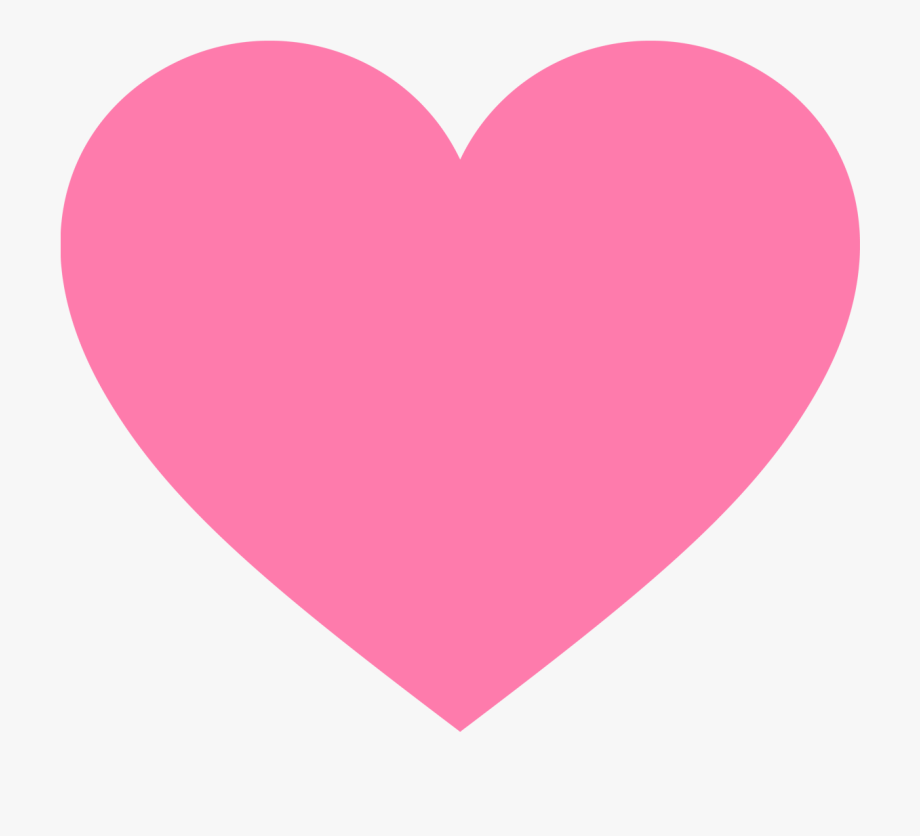 Pink Valentines Heart Clipart.
