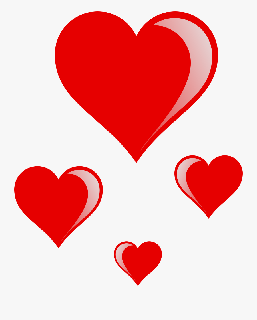 Love Heart Clipart Valentine Hearts.