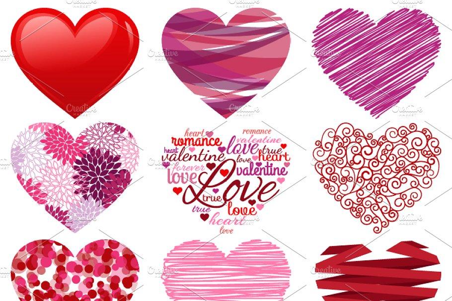 Valentine Hearts Vectors & Clipart.