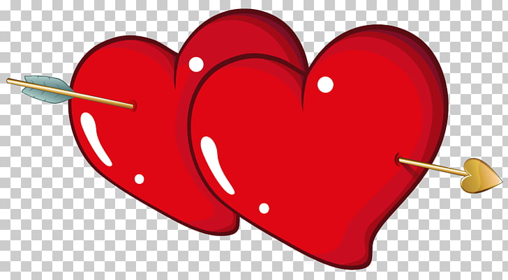 Heart Valentine\'s Day , Valentine Hearts with Arrow , hearts.