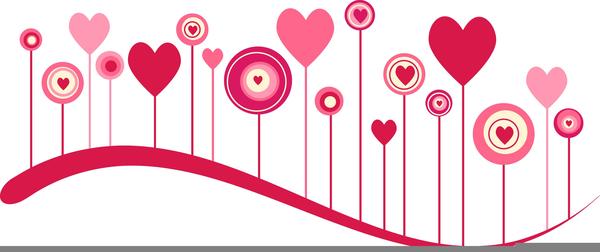 Free Valentine Clipart Borders.