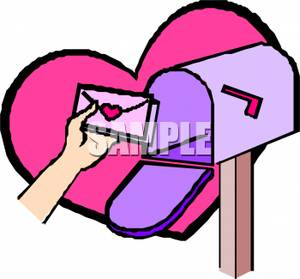 Valentines In the Mailbox.