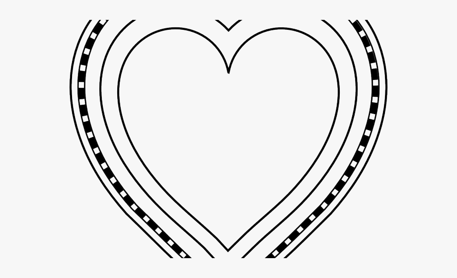 Heart Shaped Clipart Print.