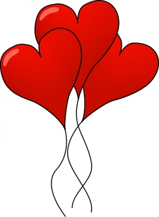 Valentines day party clipart.