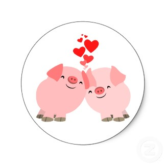 Pig clipart valentines, Pig valentines Transparent FREE for.