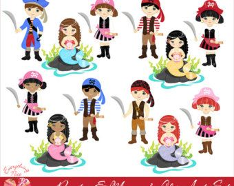 PERSONALIZED DIY Printable Pirate Valentine Tag by.