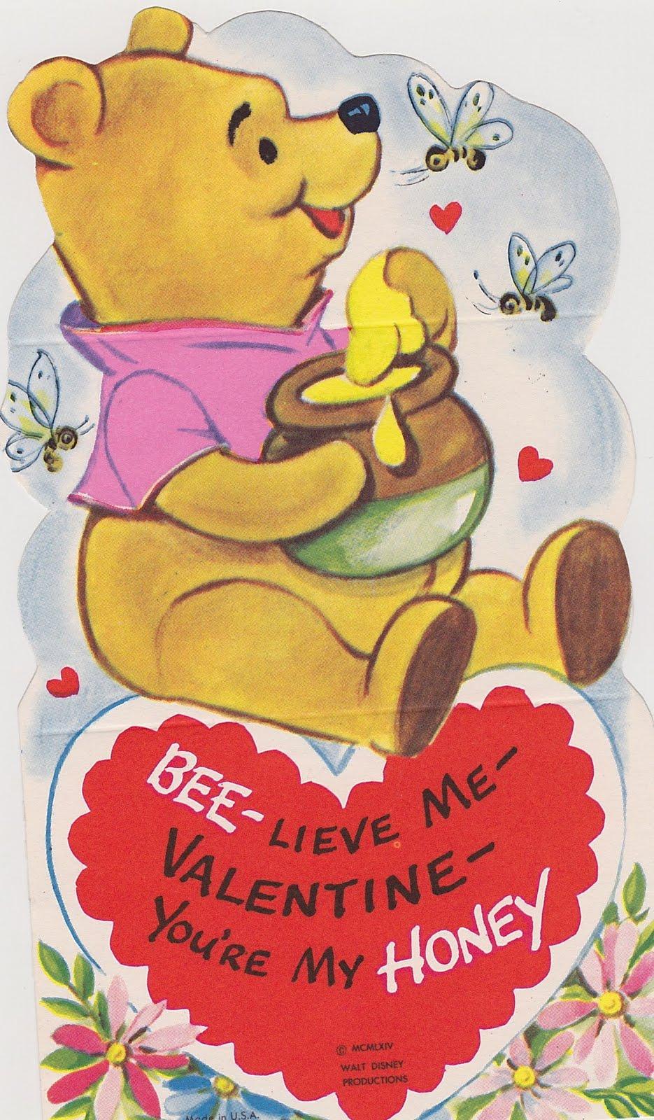 Pooh Valentine Clipart.