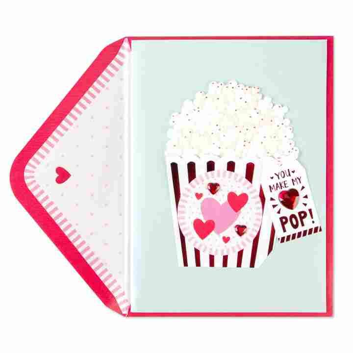 Make My Heart Pop Valentine\'s Day Card.