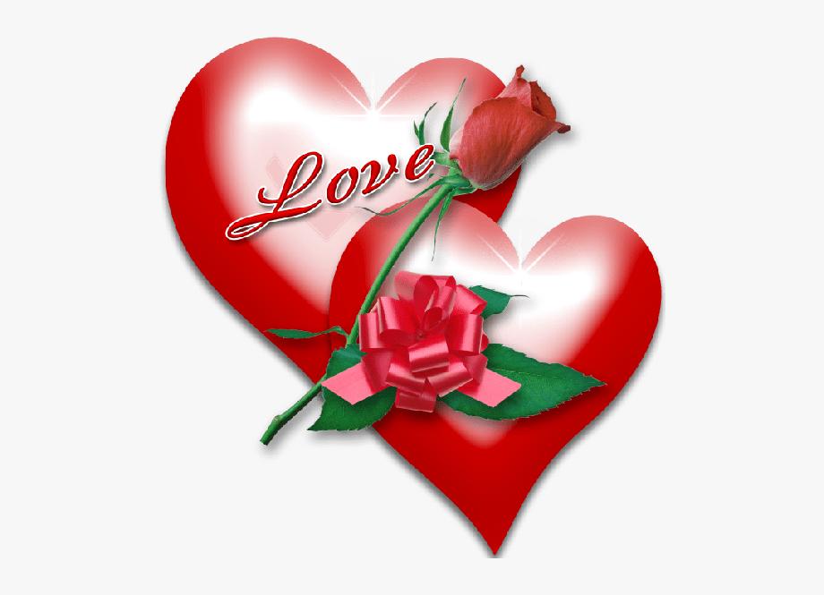 Valentine Heart Rose.