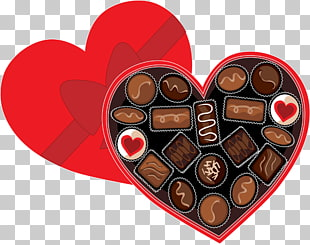 Chocolate box art Candy Valentines Day , Chocolate s PNG.