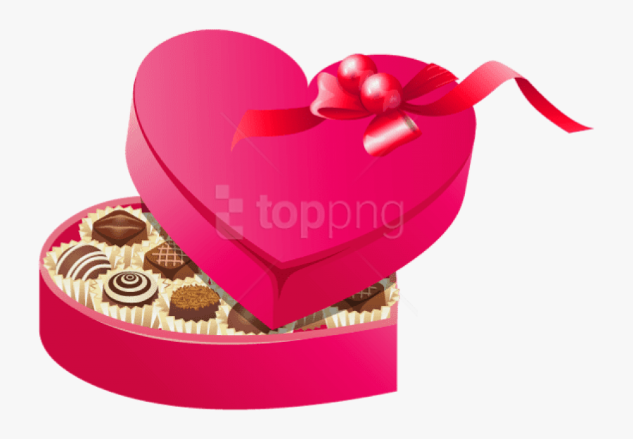 Valentines Day Chocolate Png , Free Transparent Clipart.