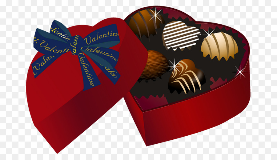 Gift Box Heart png download.