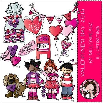 Valentine\'s Day clip art 2013.