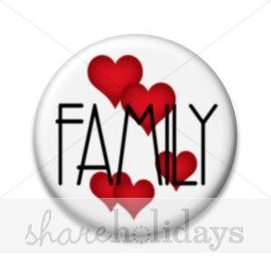Family Love Clipart.