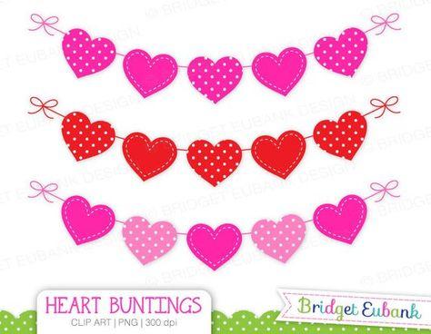 Heart Clipart, Valentine\'s Day Clipart, Valentine clipart.