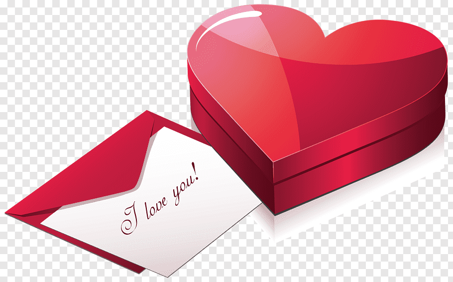 White love letter with envelope art, Gift Valentine\'s Day.