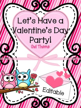 Valentine\'s Day Party and Card Exchange Letter to Parents *FREE*.