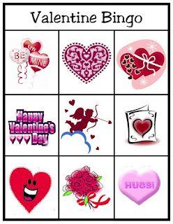 Valentine Party Games.