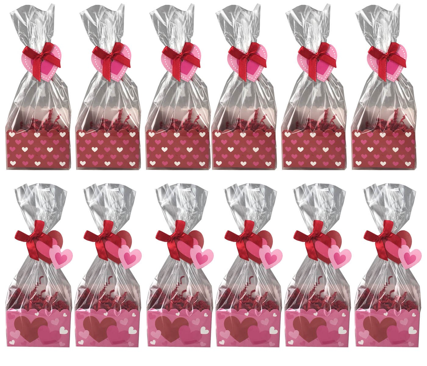 Amazon.com: Valentines Day Party Favor Treat Bag Kit With.