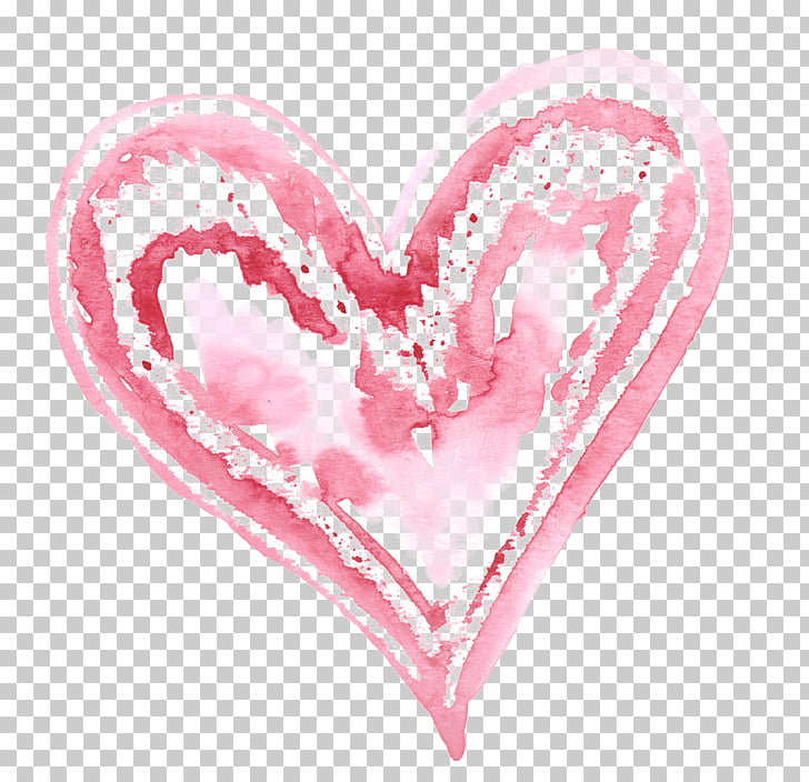 Valentines Day Heart Vecteur, Creative Valentine\'s Day PNG.